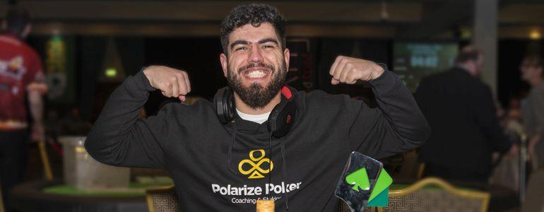 Andre Filipe Moreira Marques takes down €1100 8-max at Irish Open for €22,060