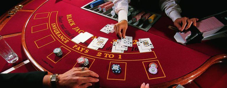 Blackjack rules hit or stand