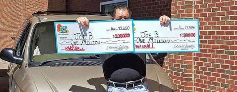 Colorado Man Lands Two $1million Lottery Jackpots On Same Day