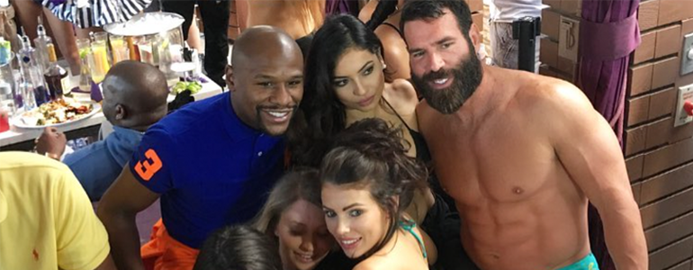 Dan Bilzerian Wins $342.000 On McGregor vs Mayweather Fight?!?!
