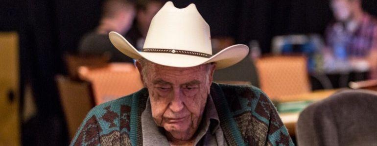 Doyle Brunson Takes a Walk Down Vegas' Memory Lane