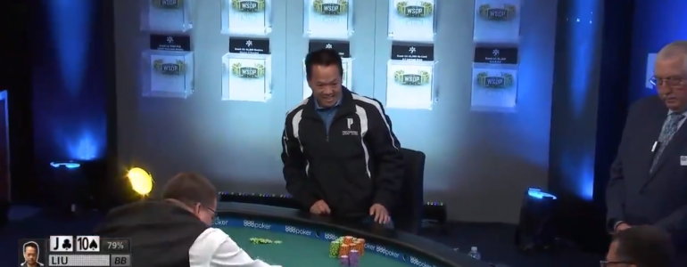 Early Victory Dance FAIL in WSOP Colossus!