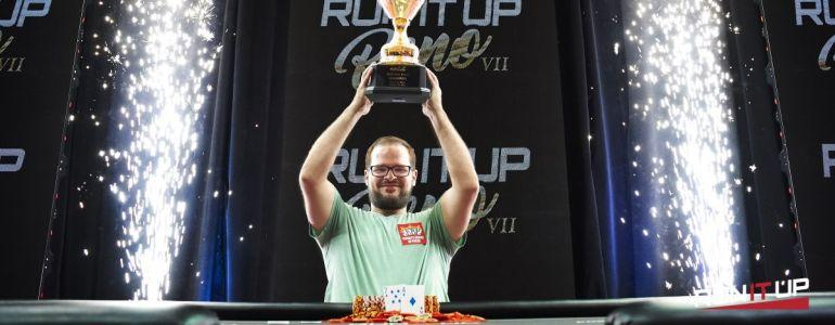 Father-to-be Matt Stout Wins RunItUp Reno Main Event for $70,000