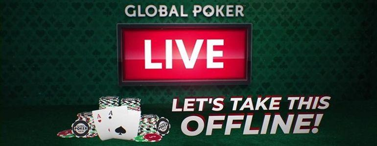 Final Six Places for $2,200 CPPT Package Up for Grabs this Weekend on Global Poker
