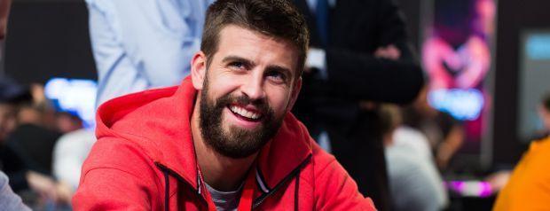 Footballer Pique Scoops €129, 350 in PSC High Roller