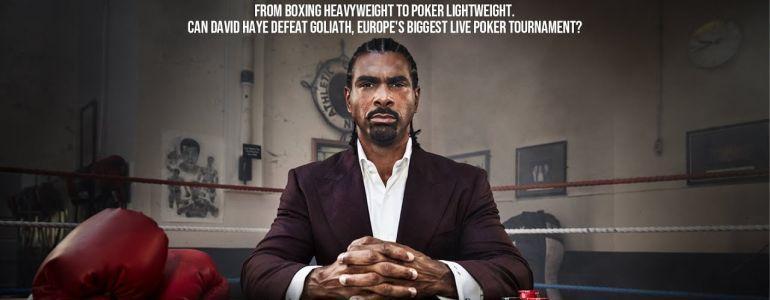 Former Heavyweight Champ David Haye Takes on His Toughest Opponent Yet in David vs Goliath Poker Documentary