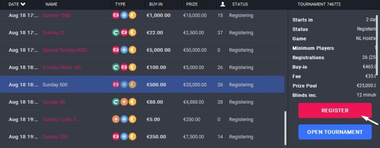 Freeroll Your Way Into The €175,000 GTD Special Sunday on HighStakes