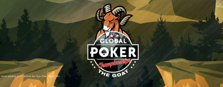 Global Poker's GOAT Series Is Confirmed as the G.O.A.T.
