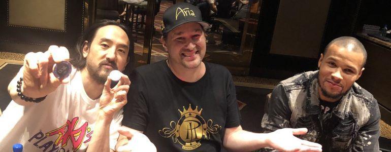 Hellmuth's WSOP kicks off with DJ Aoki and world boxing champ Eubank Jr!
