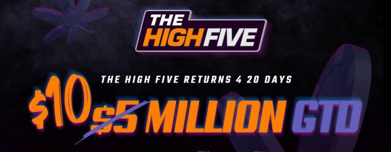 High Five Series Doubles Up to $10 Million on ACR
