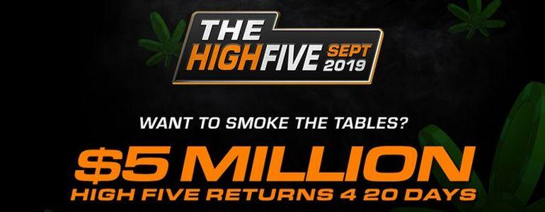High Five Tournament Series Set to Return to Americas Card Room in Fortnight