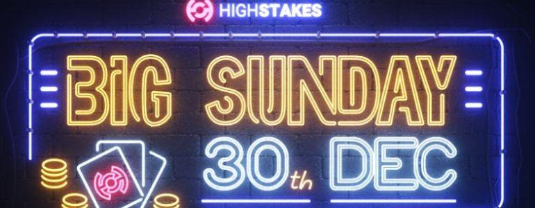 HighStakes.com Offer Big Sunday Special to Close Out 2018