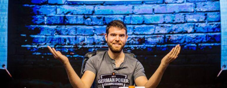 Jack Sinclair Wins German Poker Championship High Roller For €250,000