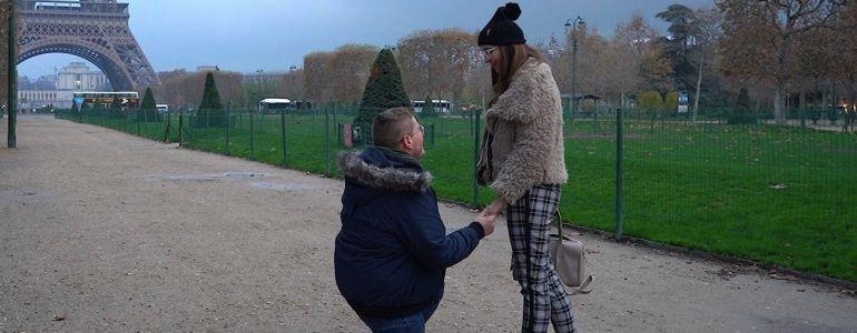 Jaime Staples Proposes to Love of His Life