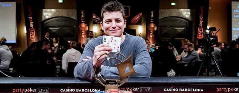Jake Schindler Wins PartyPoker €100,000 Super High Roller For €1,750,000