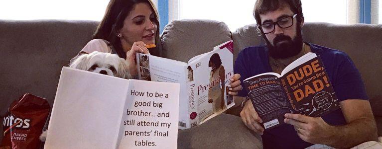 Jason and Natasha Mercier are Proud Parents of the New Kid Poker