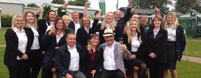 John Hesp Celebrates His $2.6million Win in Yorkshire