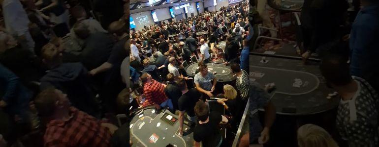 Kings Casino in Chaos as Brawl Breaks Out During Balkans Main Event