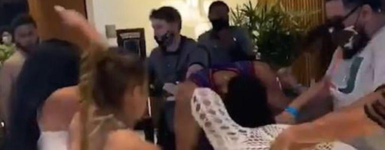 Man Kicked in Face and Woman Assaulted by Gang of Men During Hardrock Casino Fight