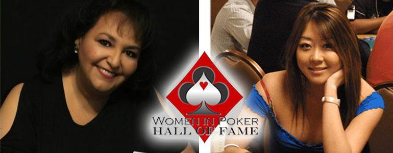Maria Ho and Lupe Soto Chosen for Women's Poker Hall of Fame