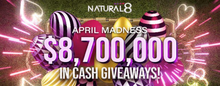 Natural8 Spring Bonanza to Feature Massive $150 Million Guarantee