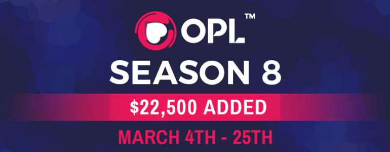 New Season of OPL Set to Hit The Online Poker Rooms on March 4th
