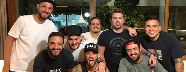 Neymar and Akkari, Two Of Brazil's Best United By Their Love Of Poker
