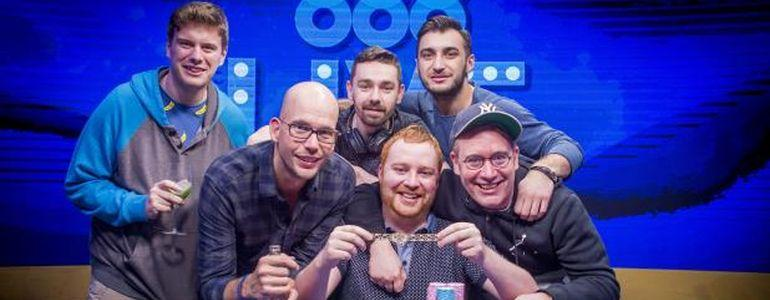 Niall Farrell Wins WSOPE €25K No-Limit Hold'em High Roller for €745,287
