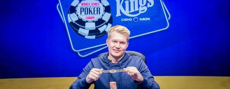 Oleksandr Shcherbak Wins WSOP Europe €1100 Monster Stack For €117,708