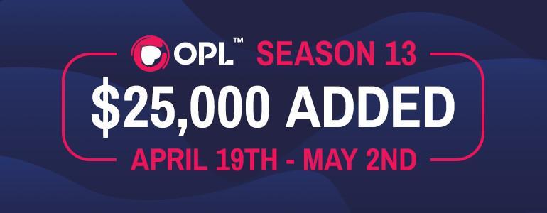 OPL Season 13 Kicks Off This Week