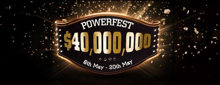 Party Poker Announces Biggest POWERFEST Ever With $40 Million GTD