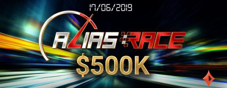 partypoker Launch $500k Alias Race Name-Change Promotion