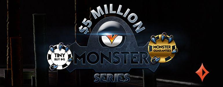 PartyPoker Launches New Monster Series with $5,000,000 Guaranteed