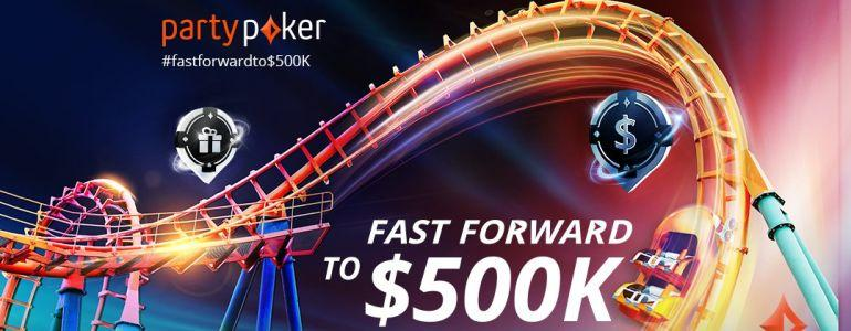 partypoker Players Get $500,000 Offer This September