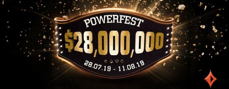 partypoker Releases $28M GTD POWERFEST Schedule