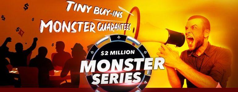 partypoker Revamps Monster Series Returning with $2 Million in Guarantees