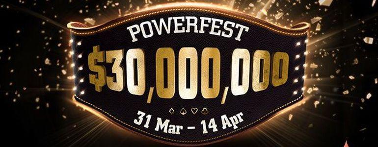 partypoker's $30million GTD POWERFEST Just Days Away