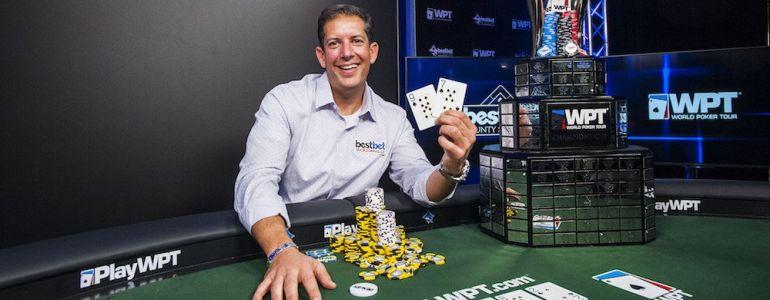 Paul Petraglia Wins 2017 World Poker Tour Bestbet Bounty Scramble For $315,732