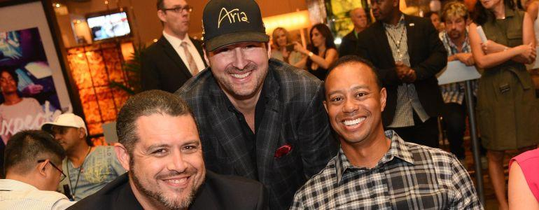 Phil Hellmuth's Crazy Week Includes Tiger Woods Announcement