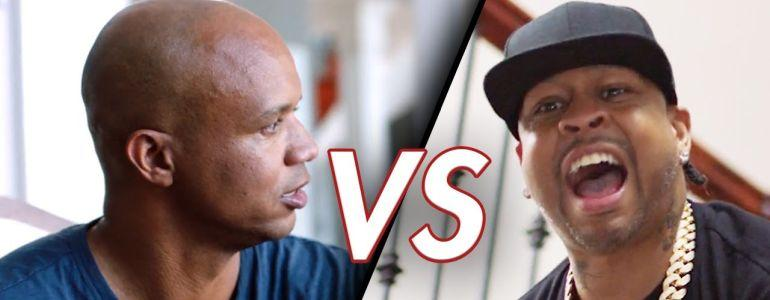 Phil Ivey and Allen Iverson in Double or Nothing Battle