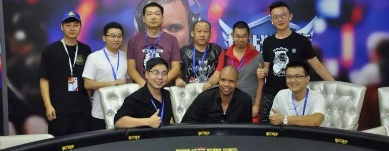 Phil Ivey Makes Public Appearance in Beijing