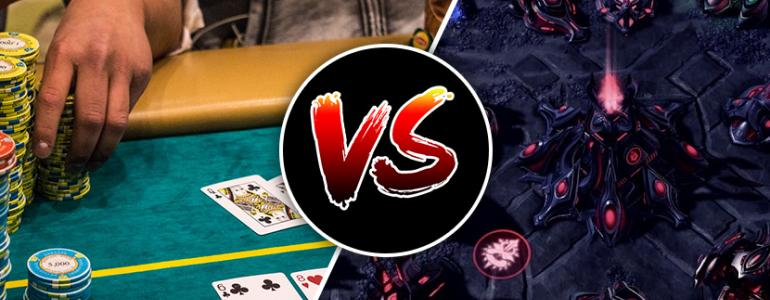 Poker vs Starcraft: Is Poker the Last Bastion of Human Defence Against the AI Machines?