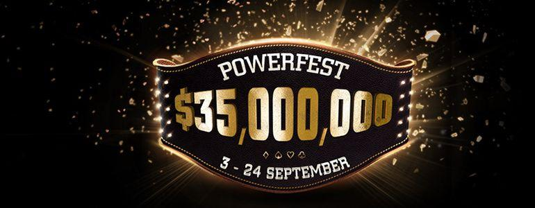 Powerfest Returns to Party Poker With a Staggering $35 Million GTD