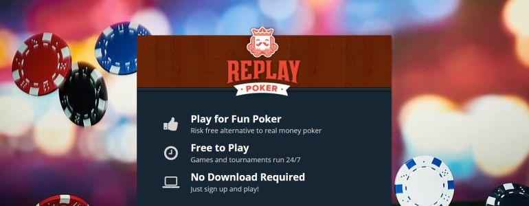 Replay Poker: The Risk Free Alternative to Real Money Poker