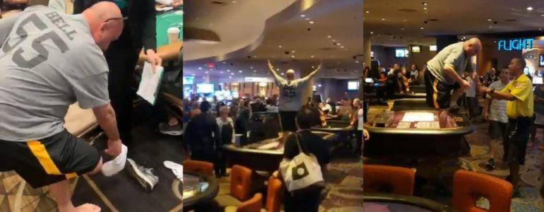 Second Player Disqualified from WSOP Main Event After Dropping His Shorts and Throwing A Shoe