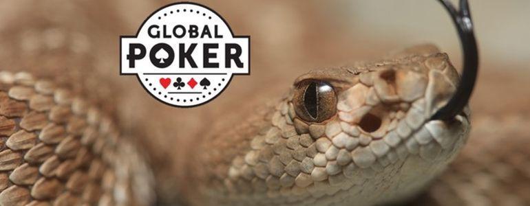 Shake, Rattlesnake and FreeRoll at Global Poker