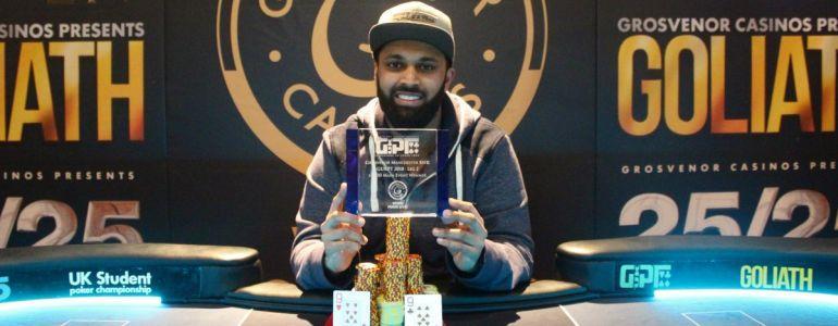 Taxman Demands GUKPT Winner's Entire £69k Main Event Scoop