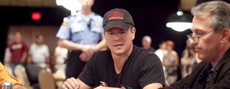 That Time Matt Damon Played in the WSOP
