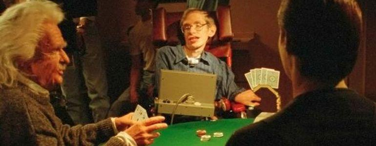 That Time When Stephen Hawking Played Poker Against Isaac Newton, Albert Einstein and Data