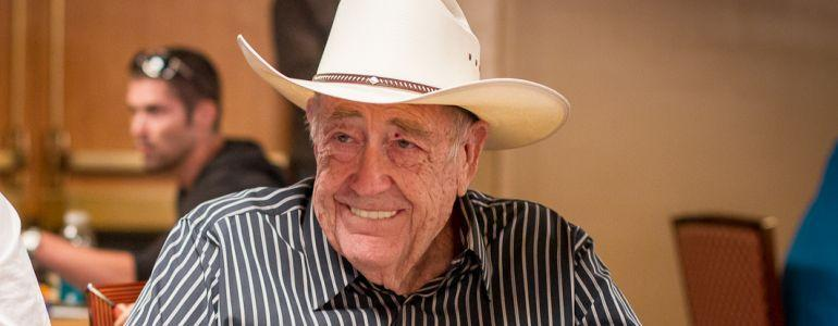 The Poker World Is Saying Goodbye to Doyle Brunson